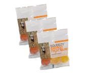 SQUEEZY ENERGY FRUIT GUM GOMITAS MASTICABLES ENERGIZANTES 3 BAG